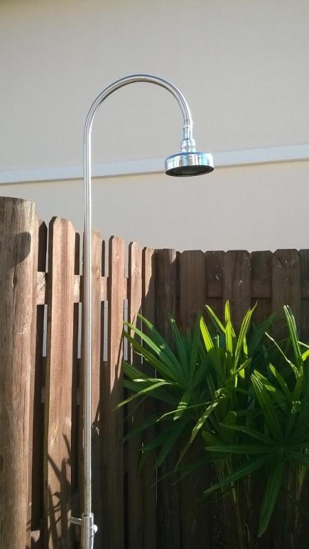 Ducha Inox para Banheiro Onde Comprar Bauru - Ducha em Inox para Piscina
