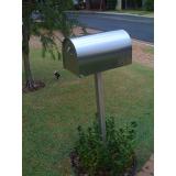 caixa de correio de inox orçamento Leme