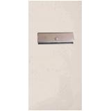 caixa de correio de inox para muro orçamento Alumínio