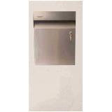 caixa de correio inox com abertura frontal orçamento Jundiaí