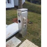 comprar caixa de correio em aço inox para entrada de prédio Pedreira