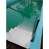 corrimão em aço inox para piscina valor Cerquilho