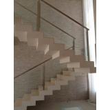 corrimão em inox para escada Cordeirópolis
