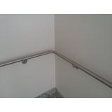 corrimão inox de parede Santana de Parnaíba