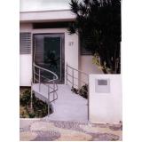 corrimão inox escada caracol valor Itatiba