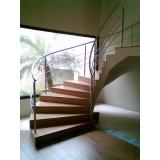 corrimão inox escada caracol valores Monte Mor