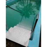 corrimão inox escada piscina valor Barueri