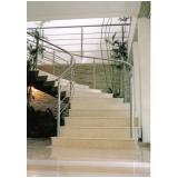 fabricante de corrimão inox escada caracol Cosmópolis