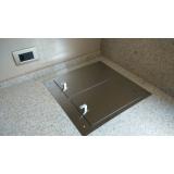 lixeiras inox banheiro automática Pedreira
