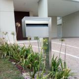 quanto custa caixa de correio em aço inox para entrada de prédio Morungaba