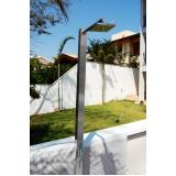 venda de ducha inox área externa Itatiba